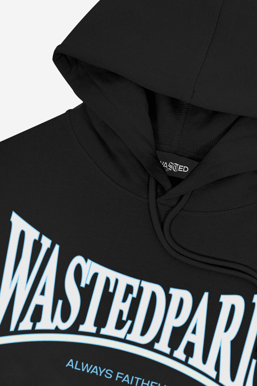 Hoodie Casual Noir - WASTED PARIS