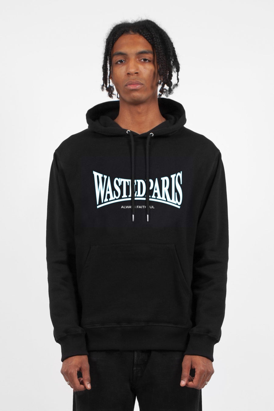 Hoodie Casuals Noir - WASTED PARIS
