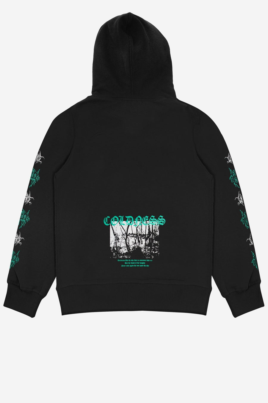 Hoodie Coldness Noir - WASTED PARIS