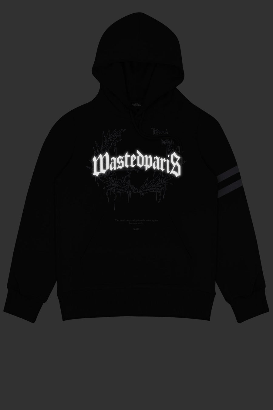 Hoodie Columbia Bridge Noir - WASTED PARIS