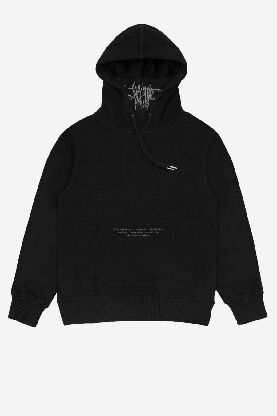 Hoodie Cult Silver - WASTED PARIS