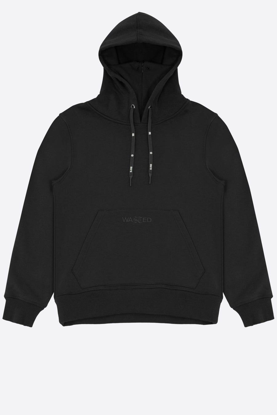 Hoodie Essentiel Noir - WASTED PARIS