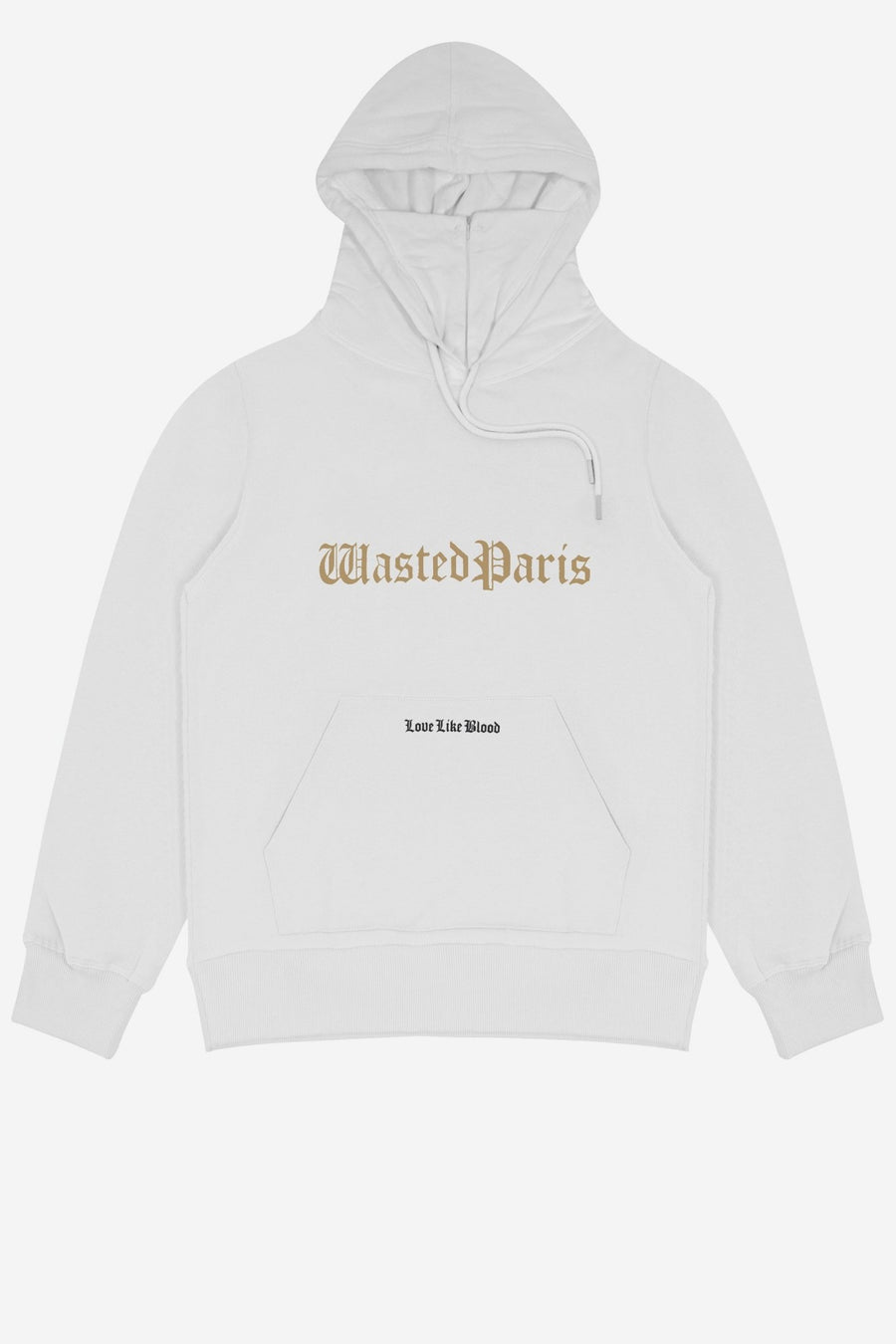 Hoodie Love Like Blood Blanc - WASTED PARIS