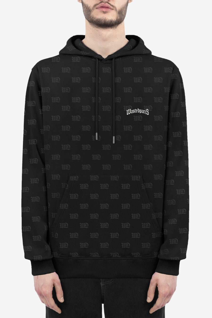 Hoodie Monogram Signature - WASTED PARIS