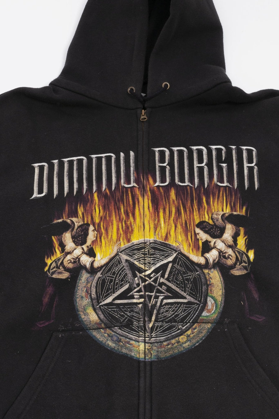 Hoodie Zippé Dimmu Borgir - WASTED PARIS