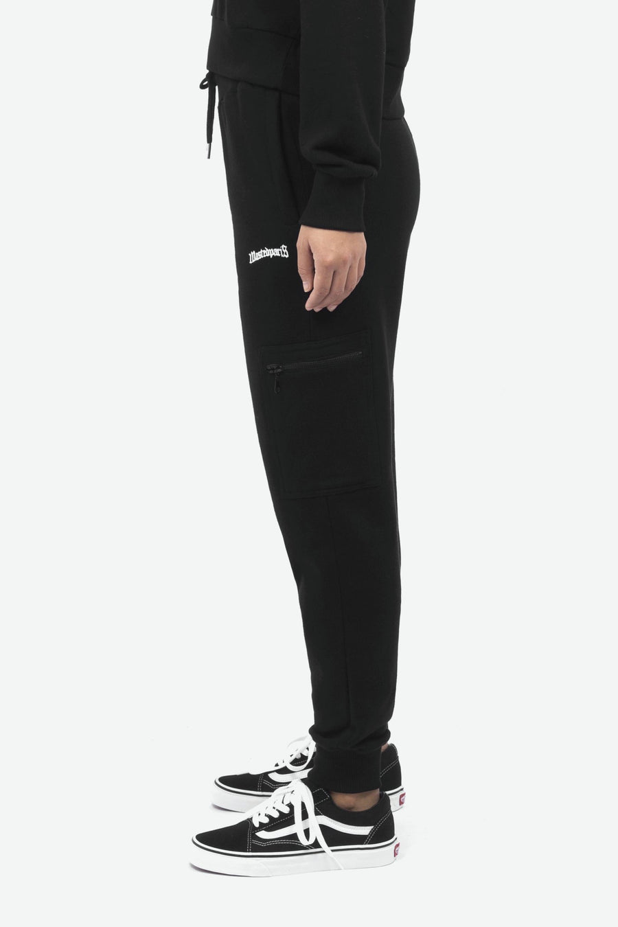 Jogging Essential Women Fit Noir - WASTED PARIS