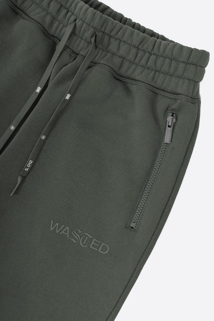 Jogging Essentiel Vert Ardoise - WASTED PARIS