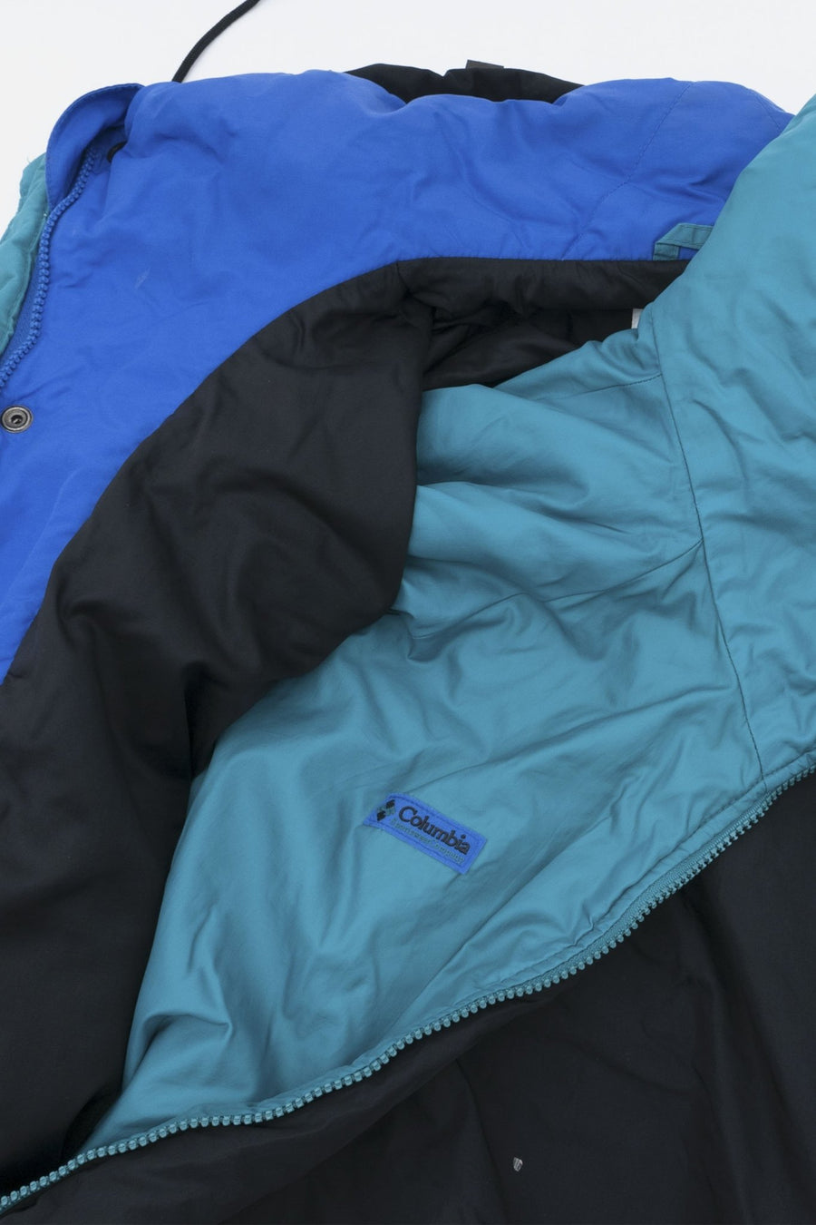 Parka Columbia Bleu/Turquoise - WASTED PARIS