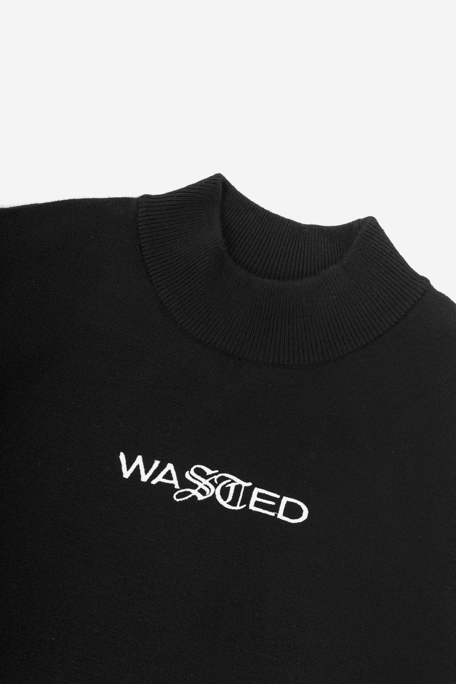 Robe Knit Noir - WASTED PARIS