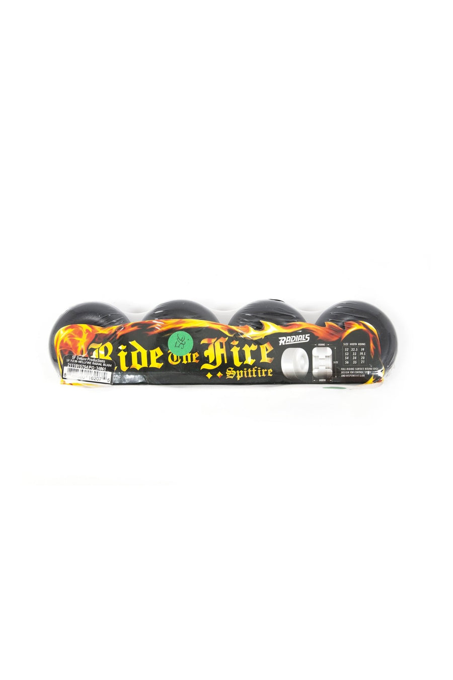 Roue Spitfire Hellfire Radial Formula Four - WASTED PARIS