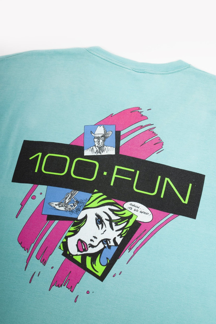 T-shirt 100% Fun Tarifa - WASTED PARIS