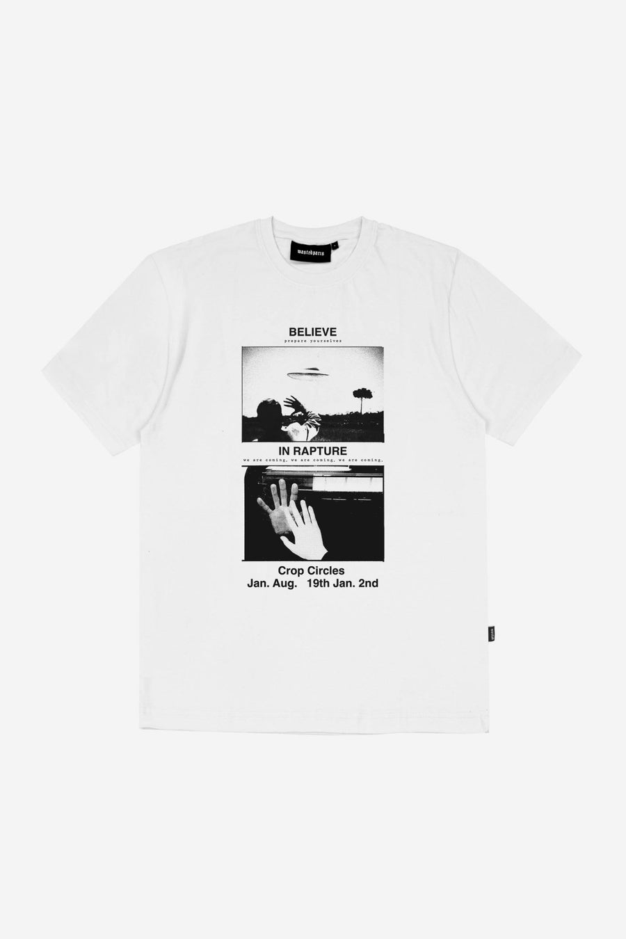 T-shirt Believe Blanc - WASTED PARIS
