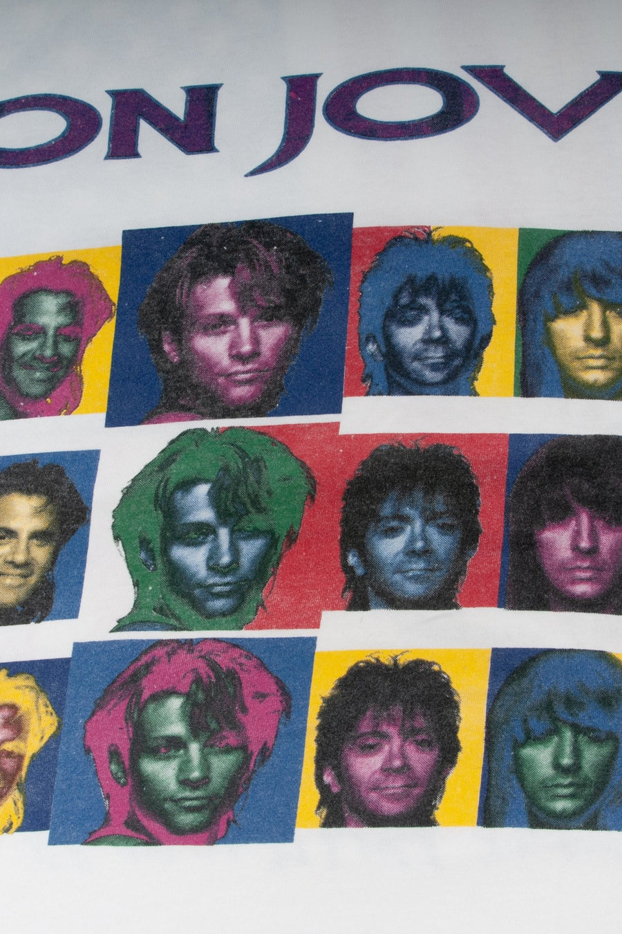 T-shirt Bon Jovi Keep The Face - WASTED PARIS