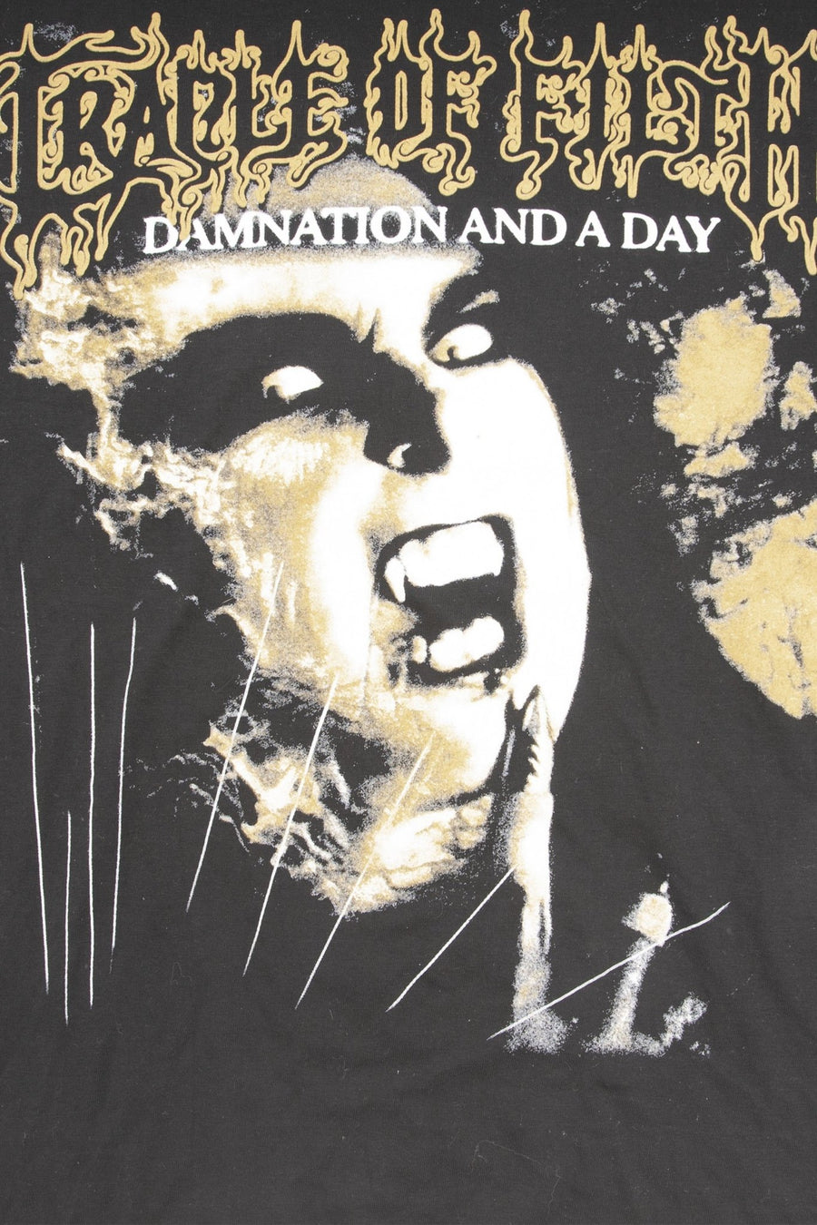 T-shirt Cradle of Filth Damnation - WASTED PARIS