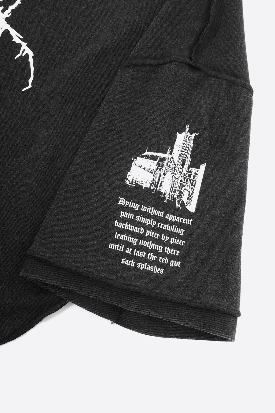 T-shirt Cult Faded Noir - WASTED PARIS