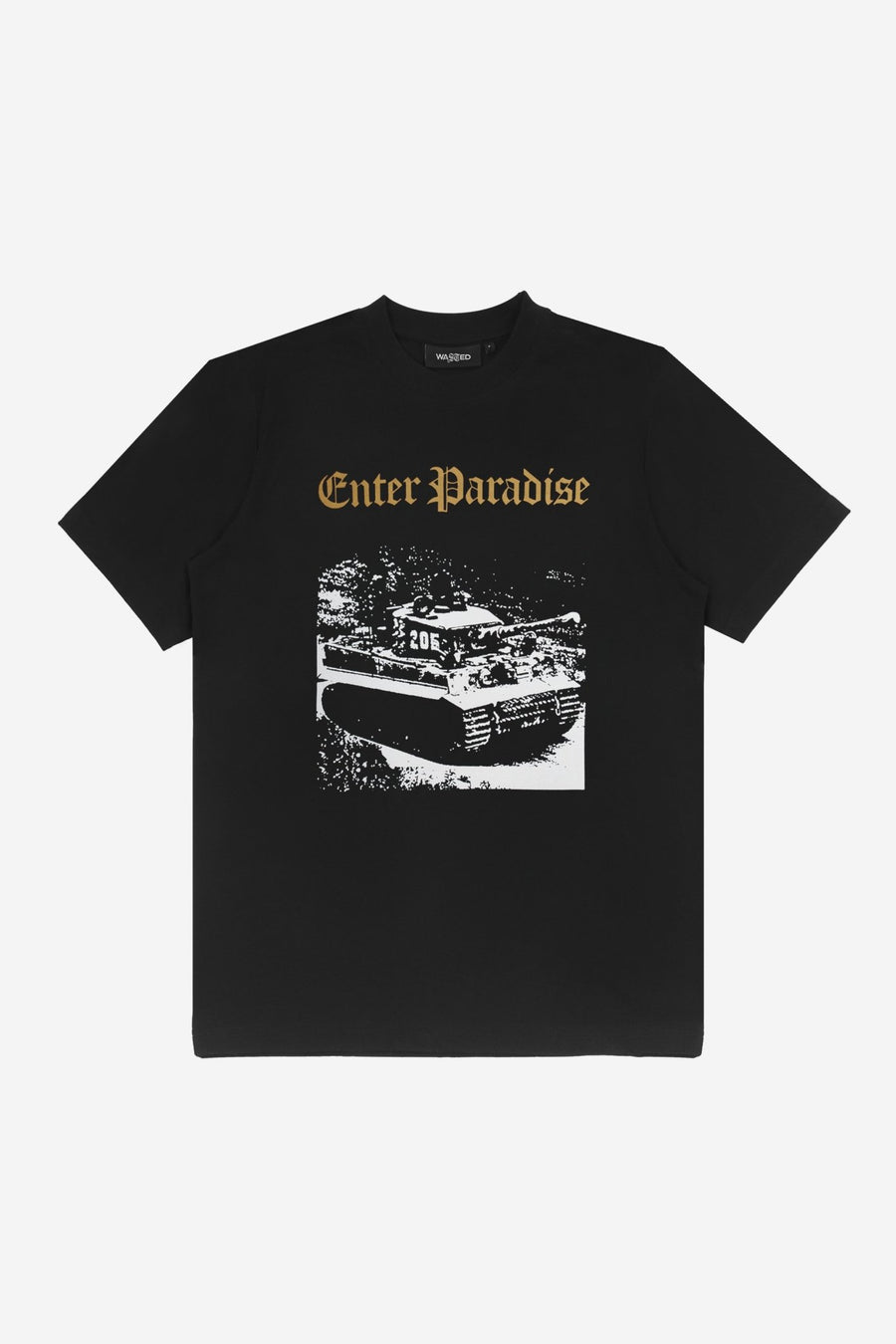 T-shirt Enter Paradise Noir - WASTED PARIS