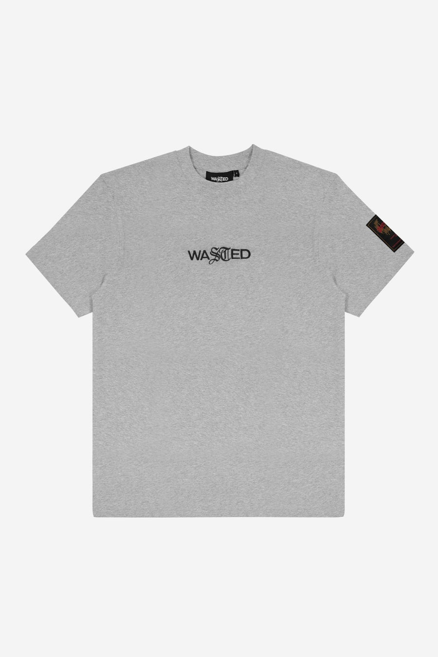 T-shirt Essentiel Gris Chiné SS21 - WASTED PARIS