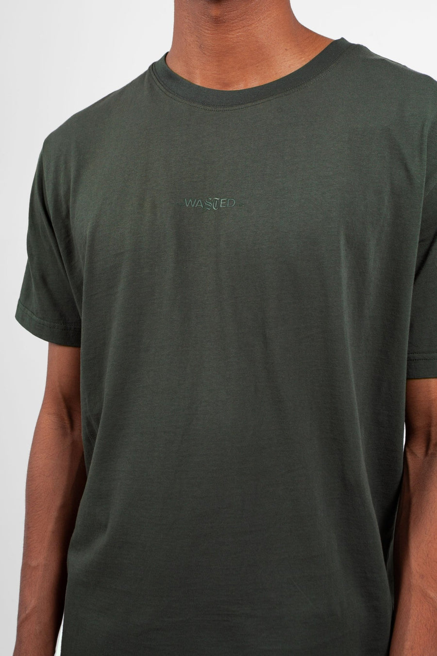 T-shirt Essentiel Vert Ardoise - WASTED PARIS