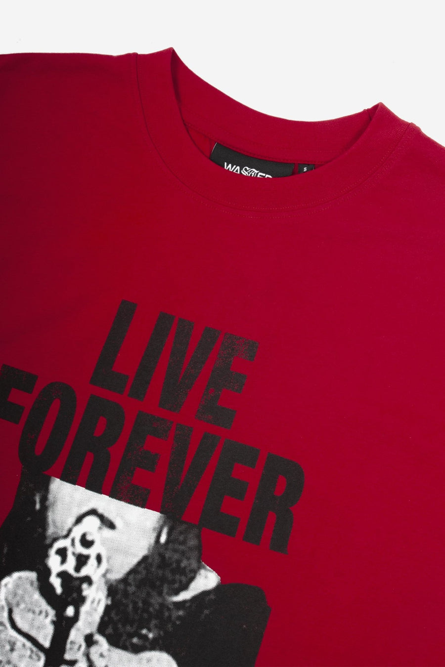 T-shirt Forever Rouge - WASTED PARIS