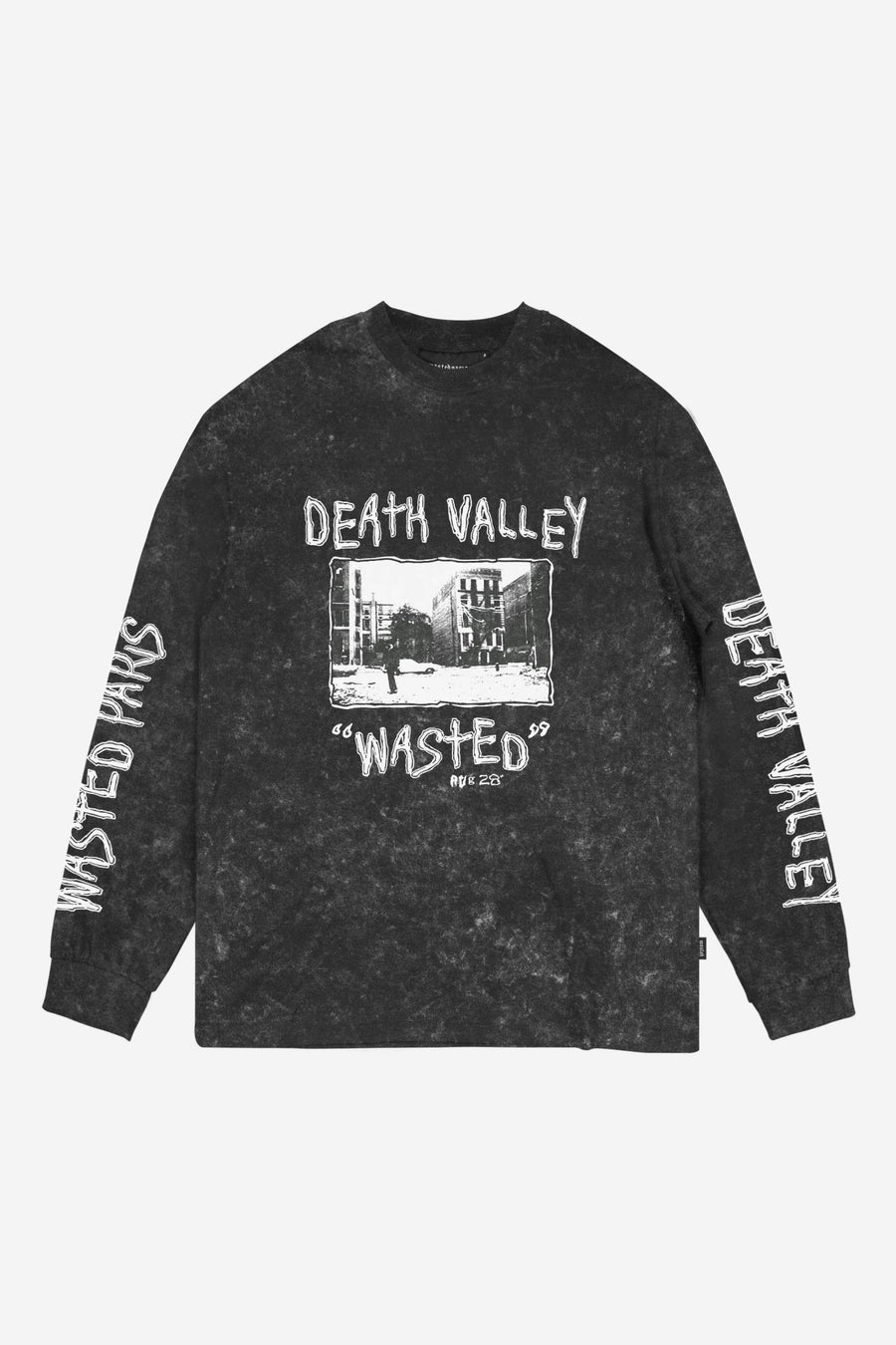 T-shirt Manches Longues Death Valley - WASTED PARIS