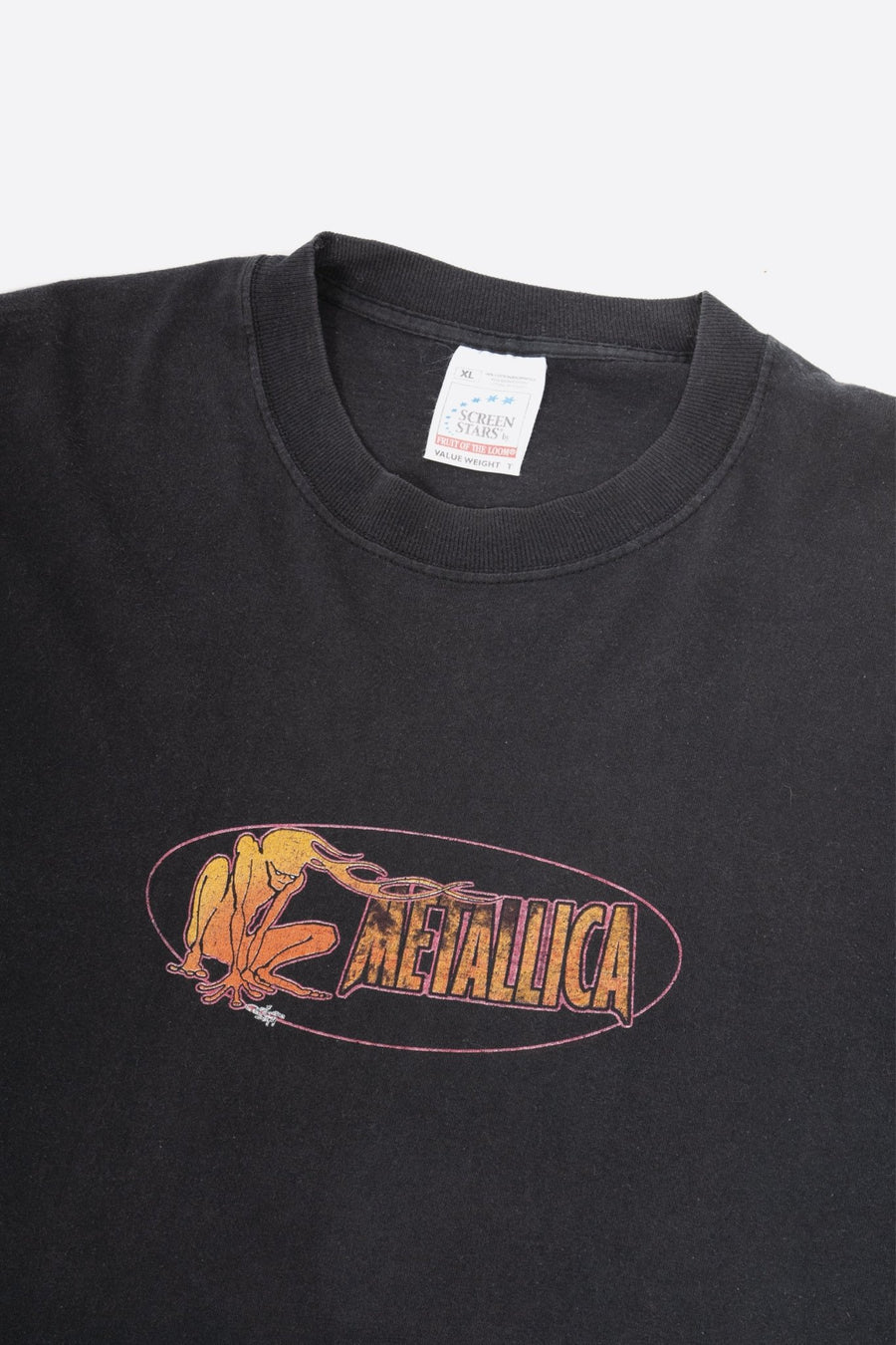 T-shirt Manches Longues Metallica Fire Head 1996 - WASTED PARIS