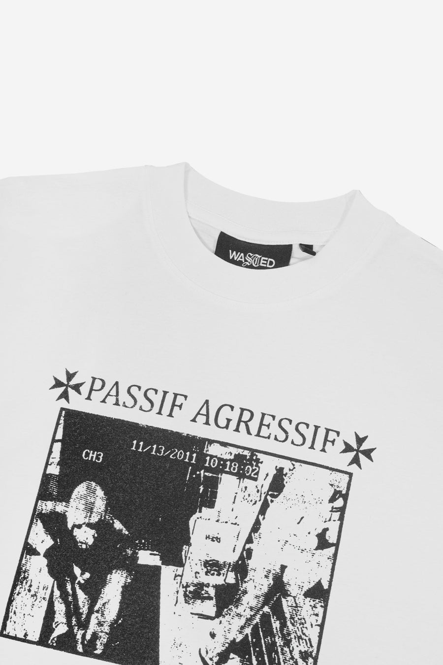 T-shirt Manches Longues Passif Agressif - WASTED PARIS