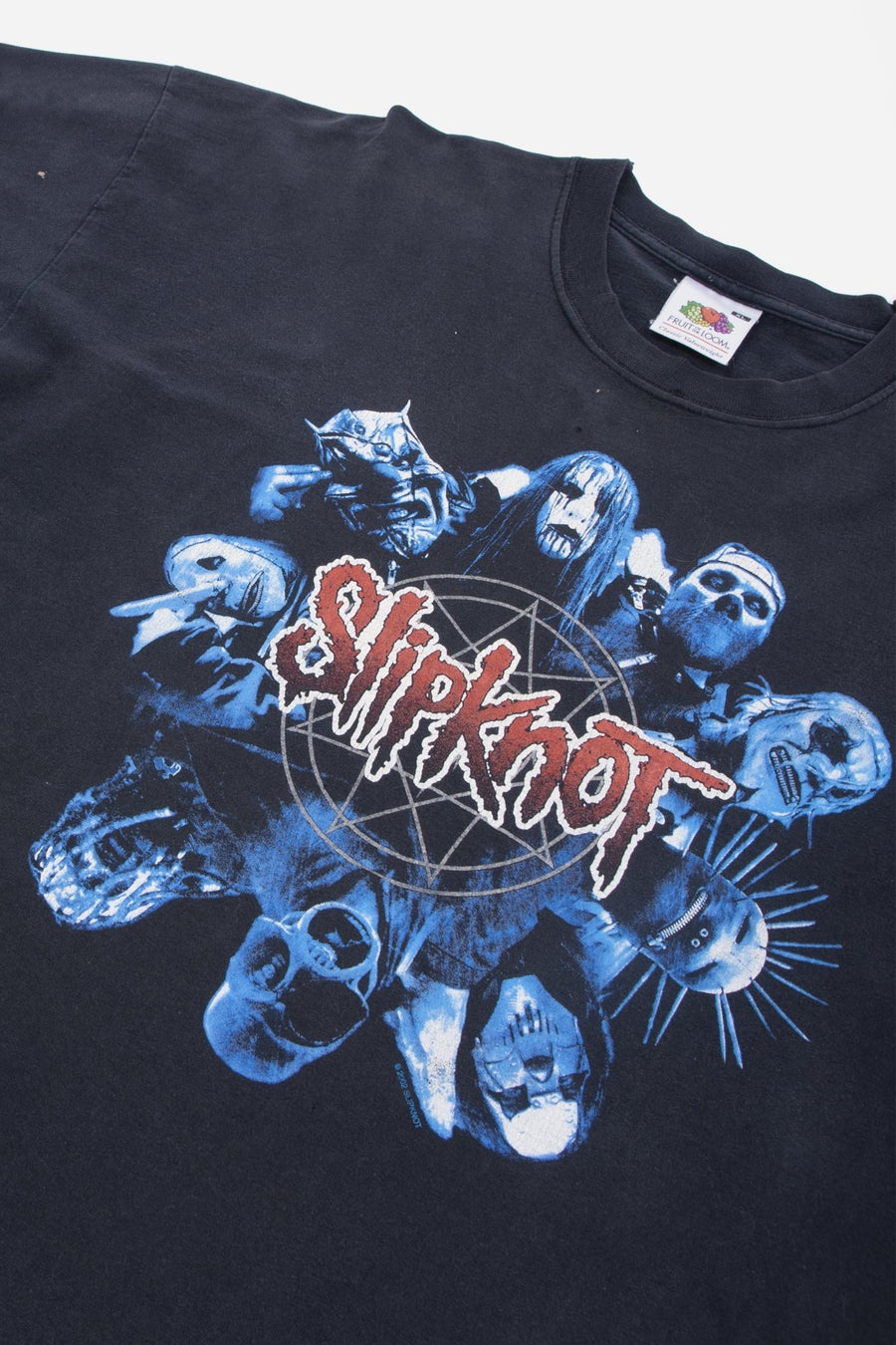 T-shirt Manches Longues Slipknot 2002 - WASTED PARIS