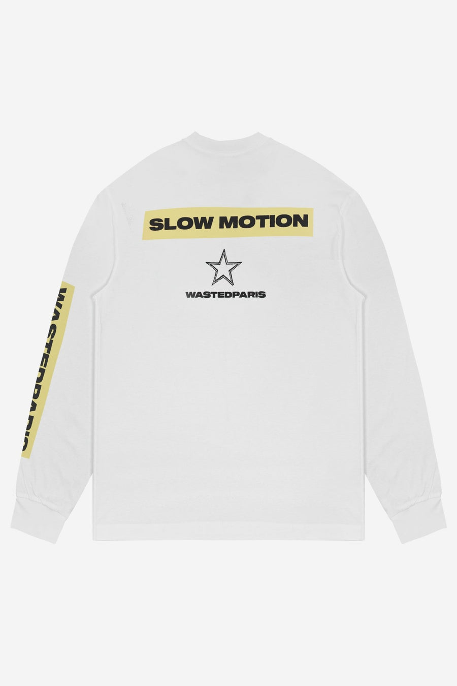 T-shirt Manches Longues Slow Motion - WASTED PARIS