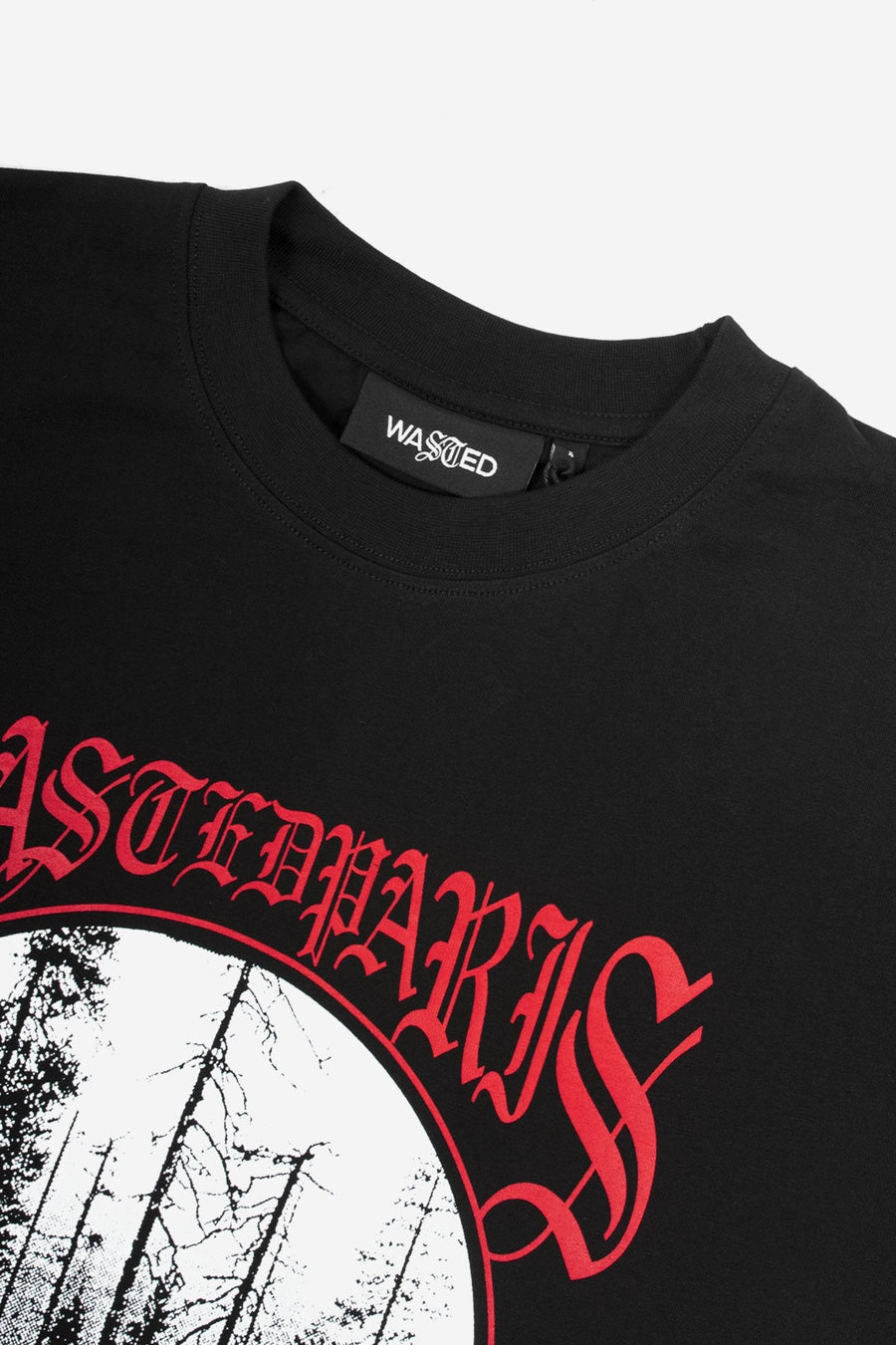 T-shirt Misery Noir - WASTED PARIS