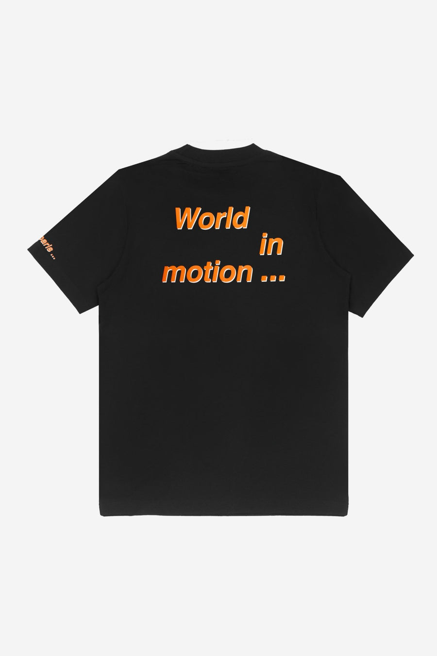 T-shirt Motion Noir - WASTED PARIS