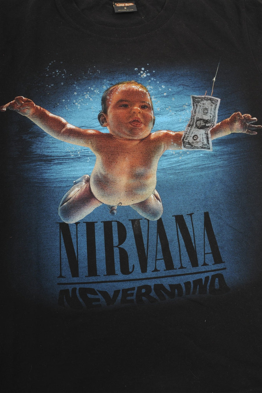 T-shirt Nirvana Nevermind - WASTED PARIS