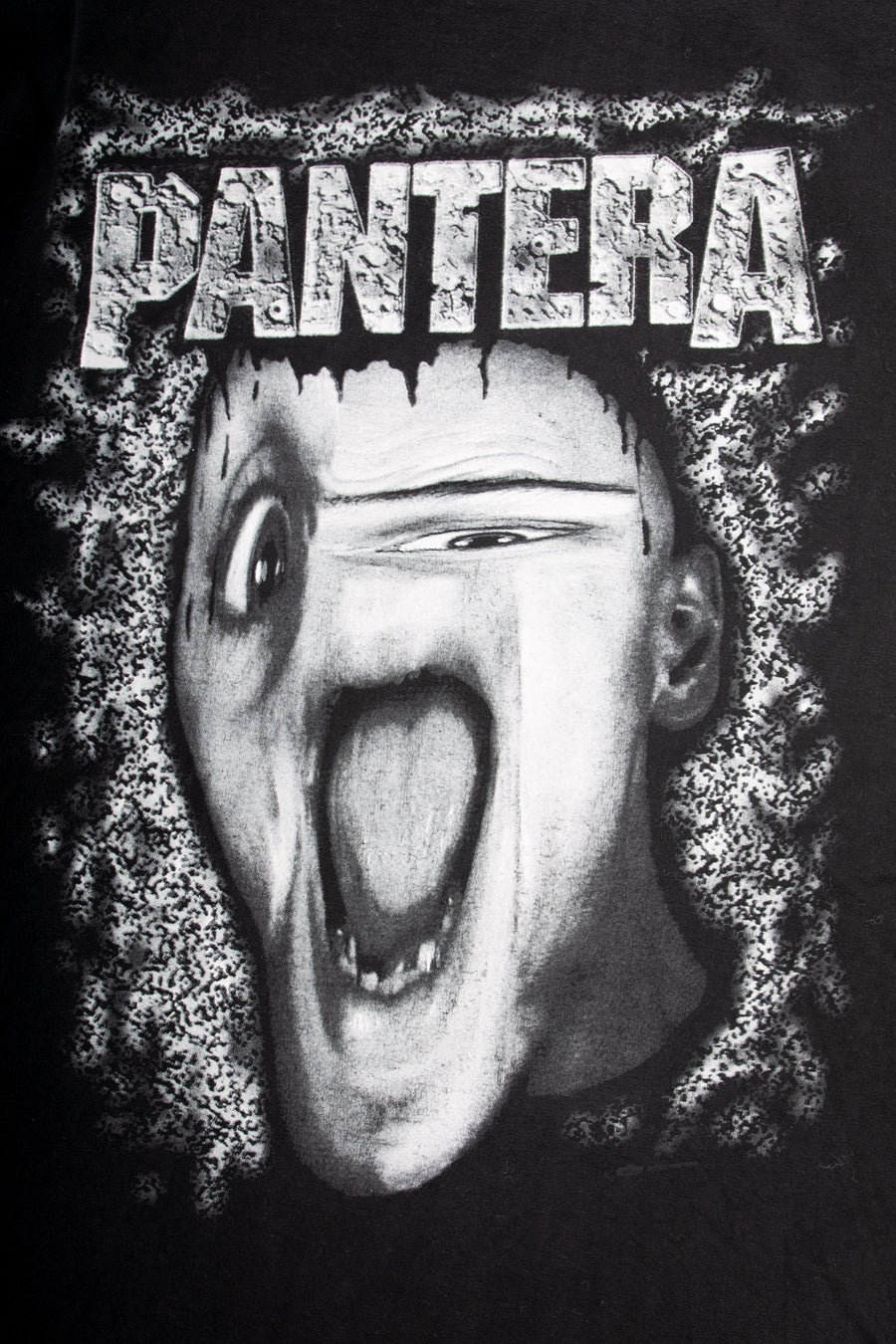 T-shirt Pantera Melting Face - WASTED PARIS