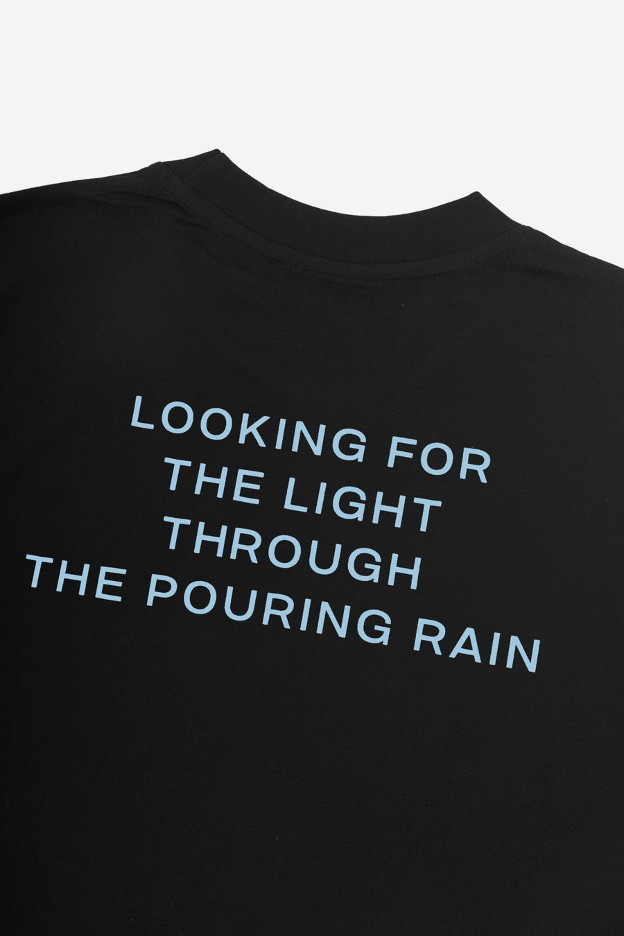 T-shirt Pouring Rain Wasted x Kevin Cummins Noir - WASTED PARIS
