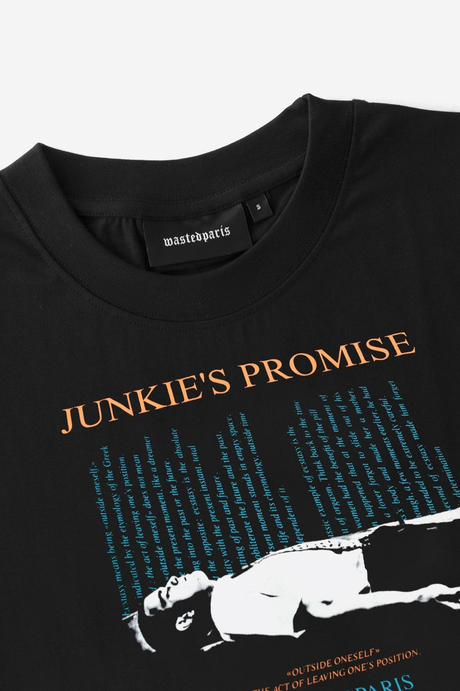 T-shirt Promise - WASTED PARIS