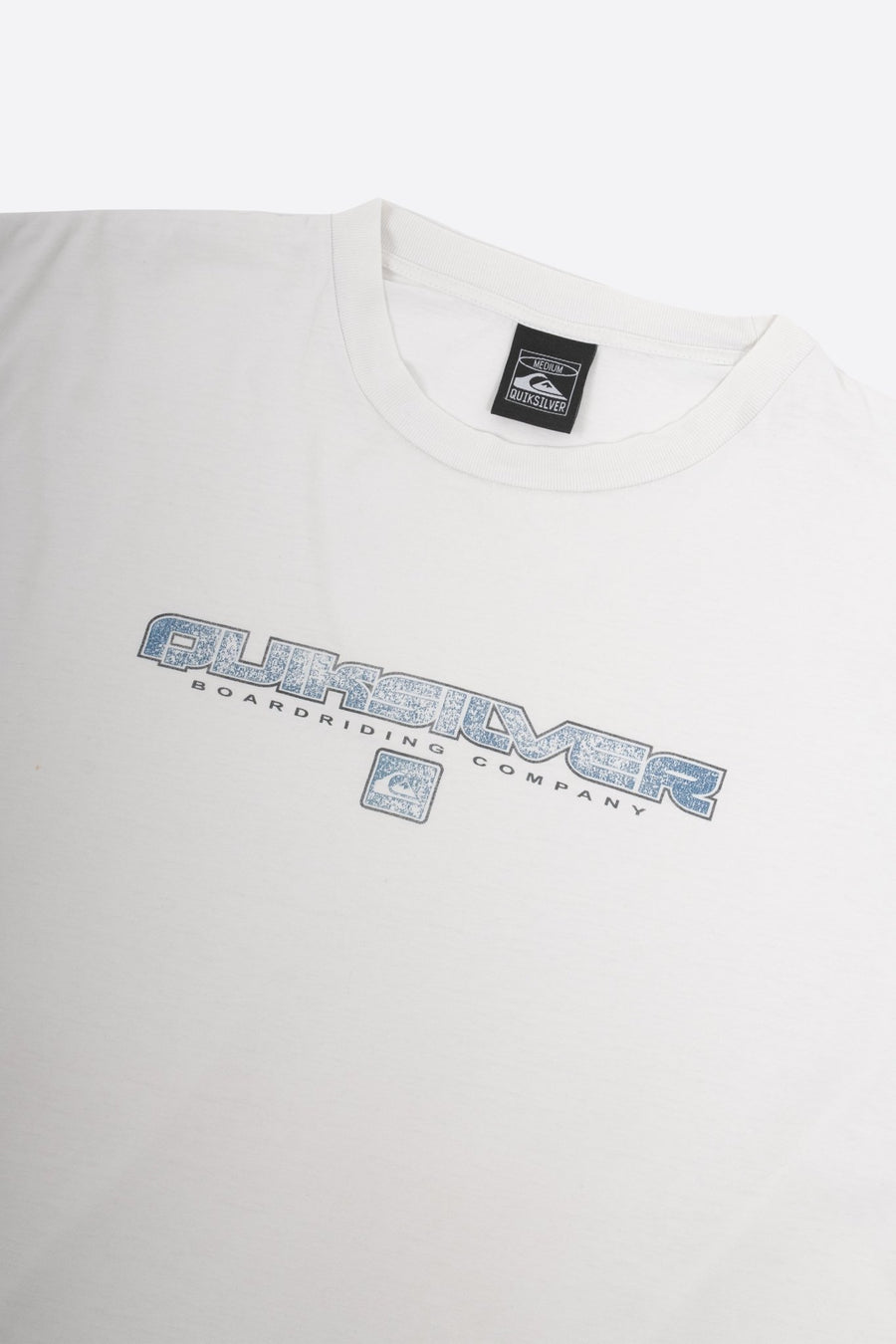 T-shirt QuickSilver Blanc - WASTED PARIS