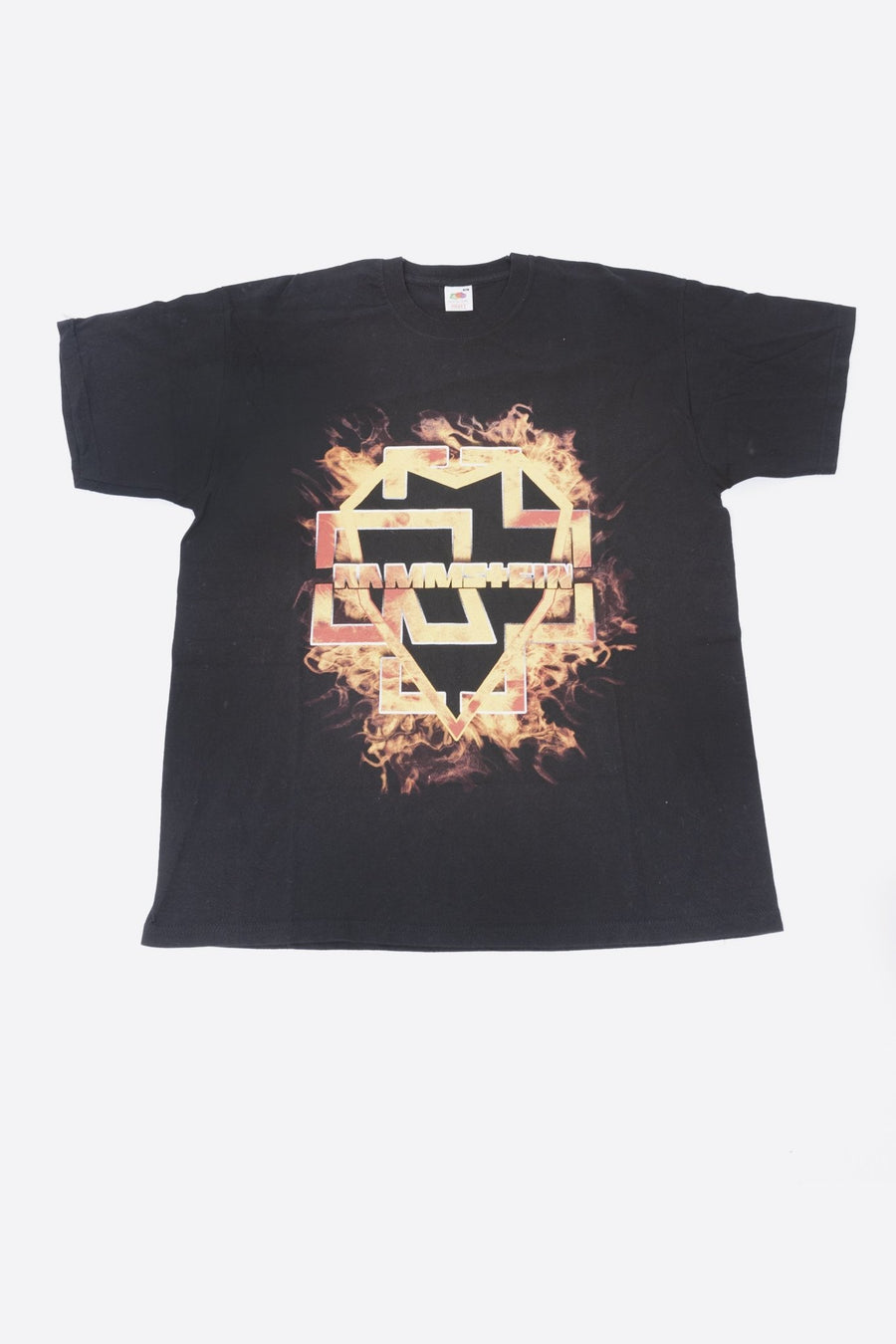 T-shirt Rammstein Fire Front Logo - WASTED PARIS