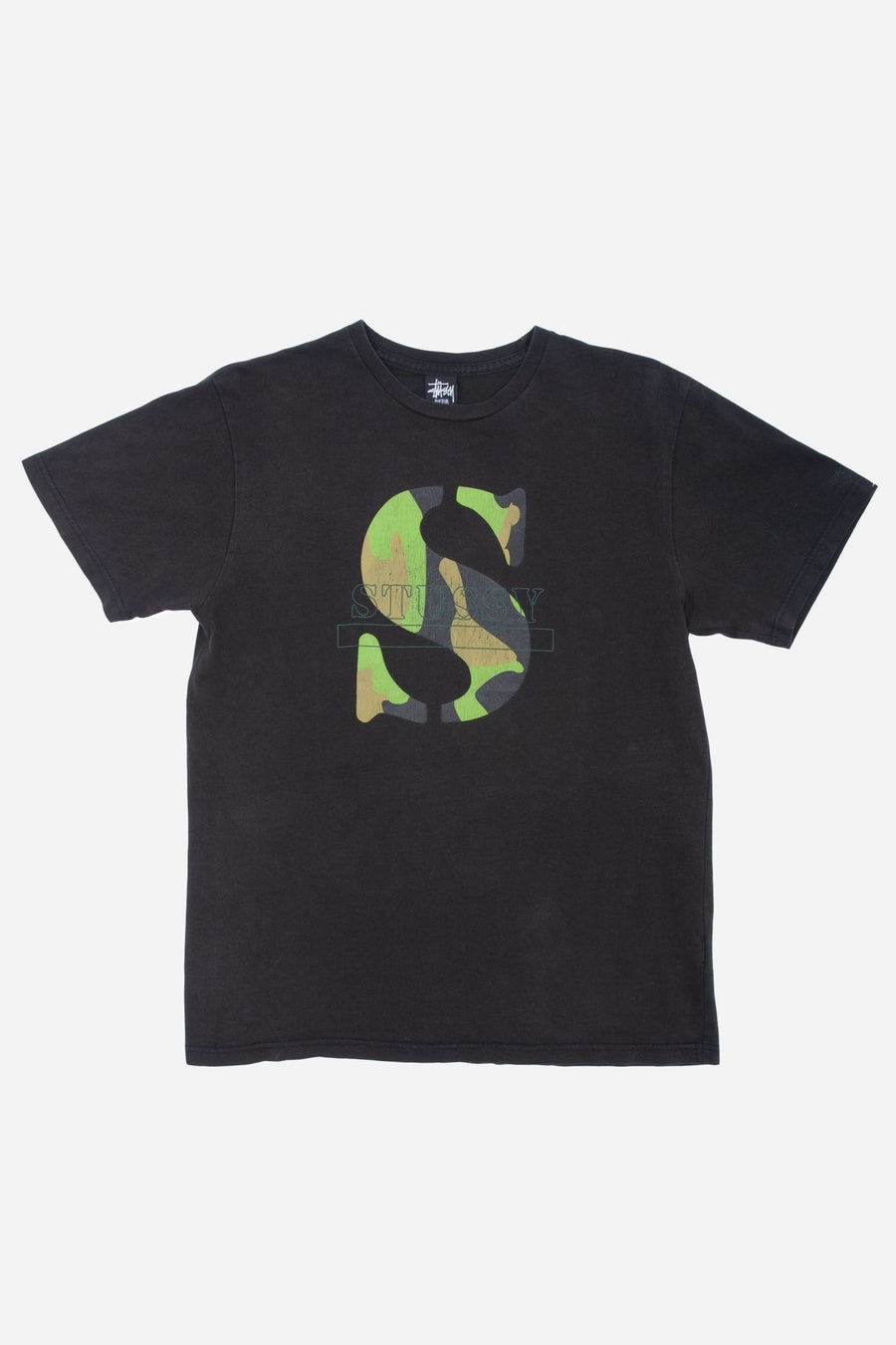T-shirt Stüssy Camo Signature - WASTED PARIS