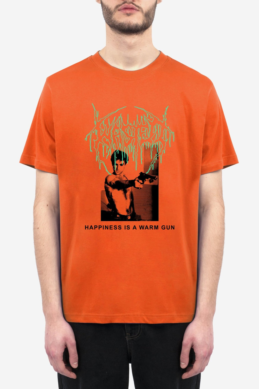 T-shirt Warm Gun Orange - WASTED PARIS