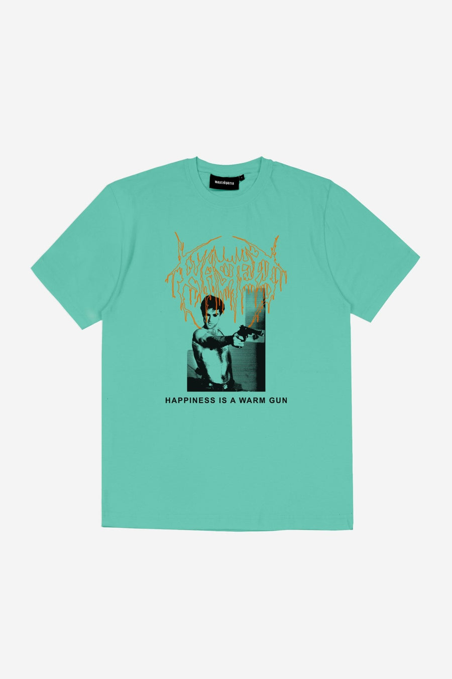 T-shirt Warm Gun Turquoise - WASTED PARIS