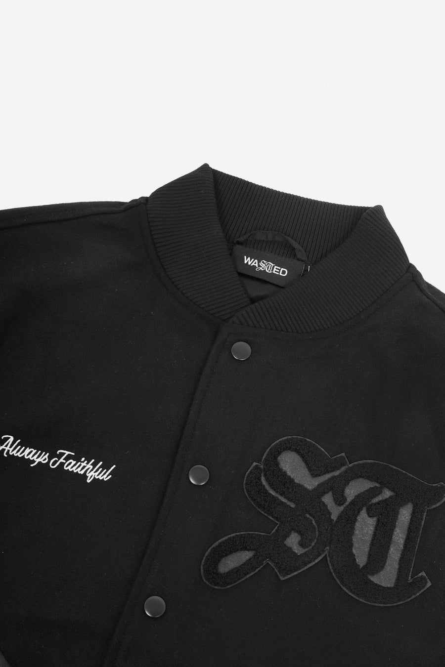 Teddy Varsity Noire - WASTED PARIS