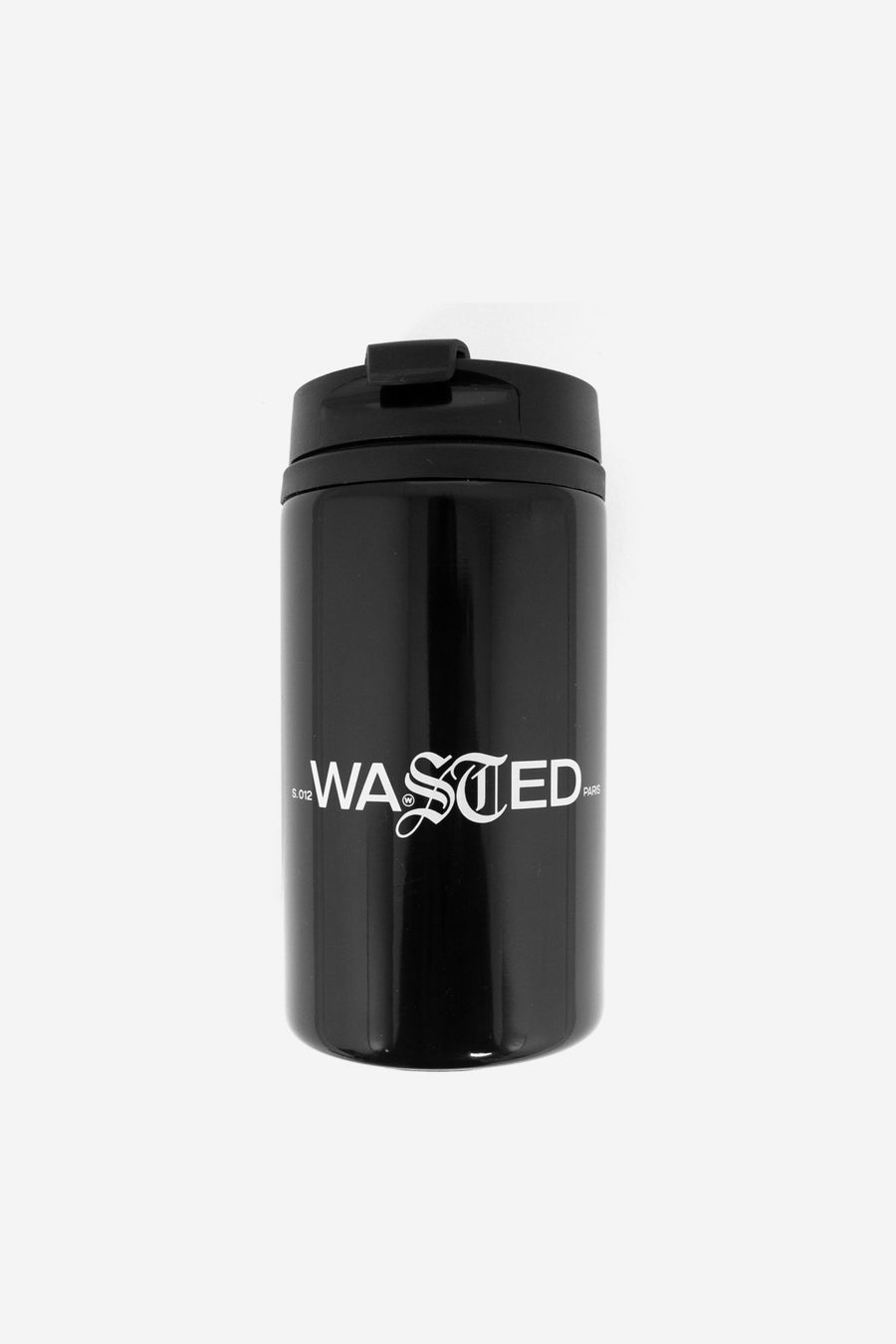 Thermos Signature Noir - WASTED PARIS