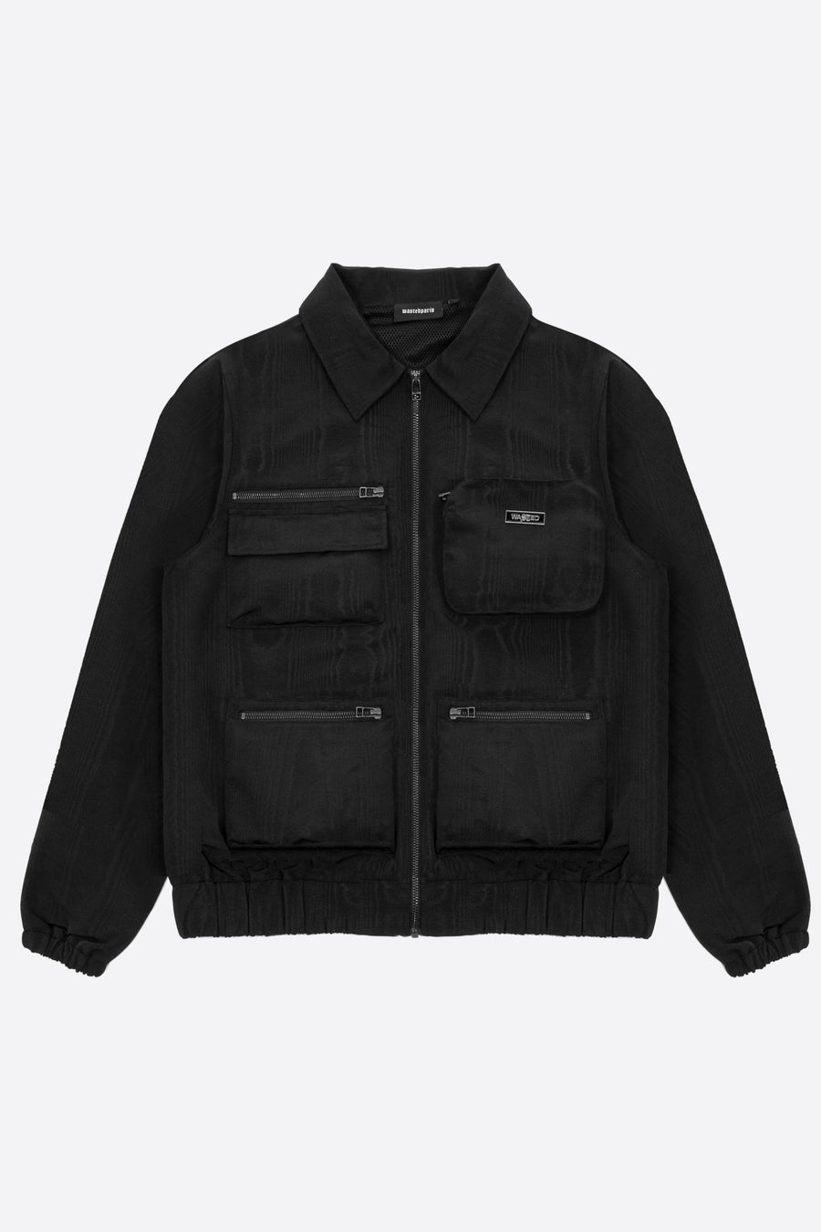 Veste Basswood Noire - WASTED PARIS