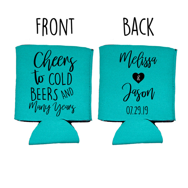Wedding Favor Koozie