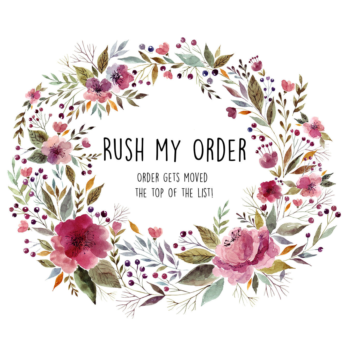 Rush My Order! Add on
