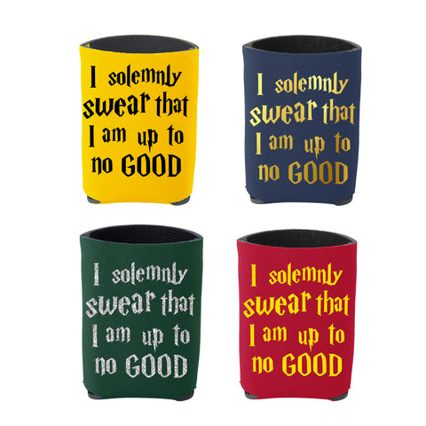 """I solemnly Swear That I am up to no Good"" Can Koozie Can Cooler"