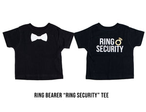 Wedding Ring Bearer or Ring Security T-Shirt