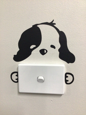 Pet Light Switch Decal
