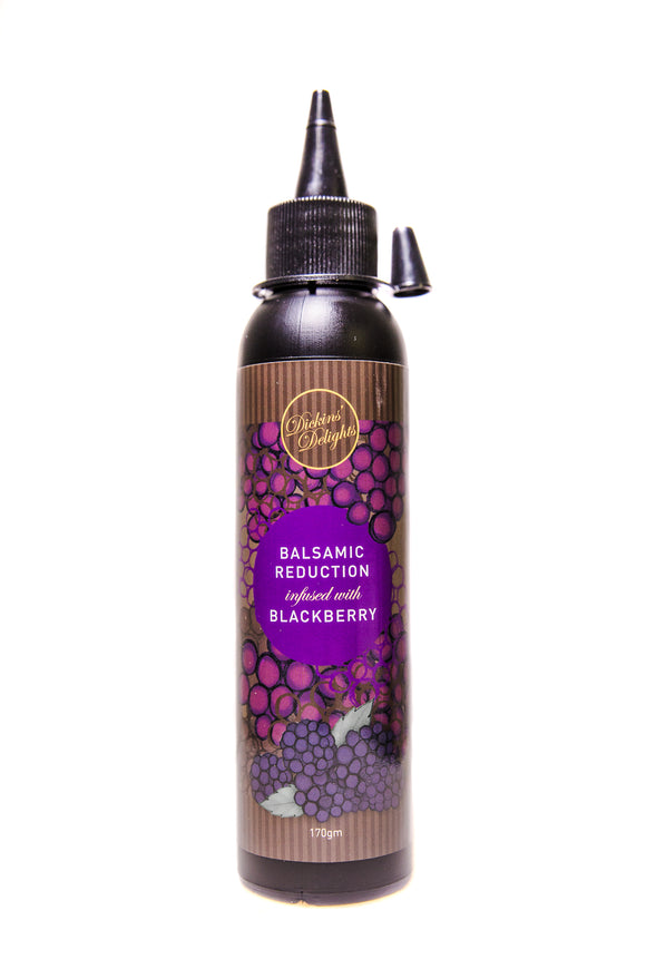 Infused Blackberry Balsamic Reduction 200ml