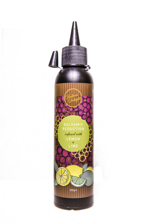 Infused Lemon & Lime Balsamic Reduction 200ml
