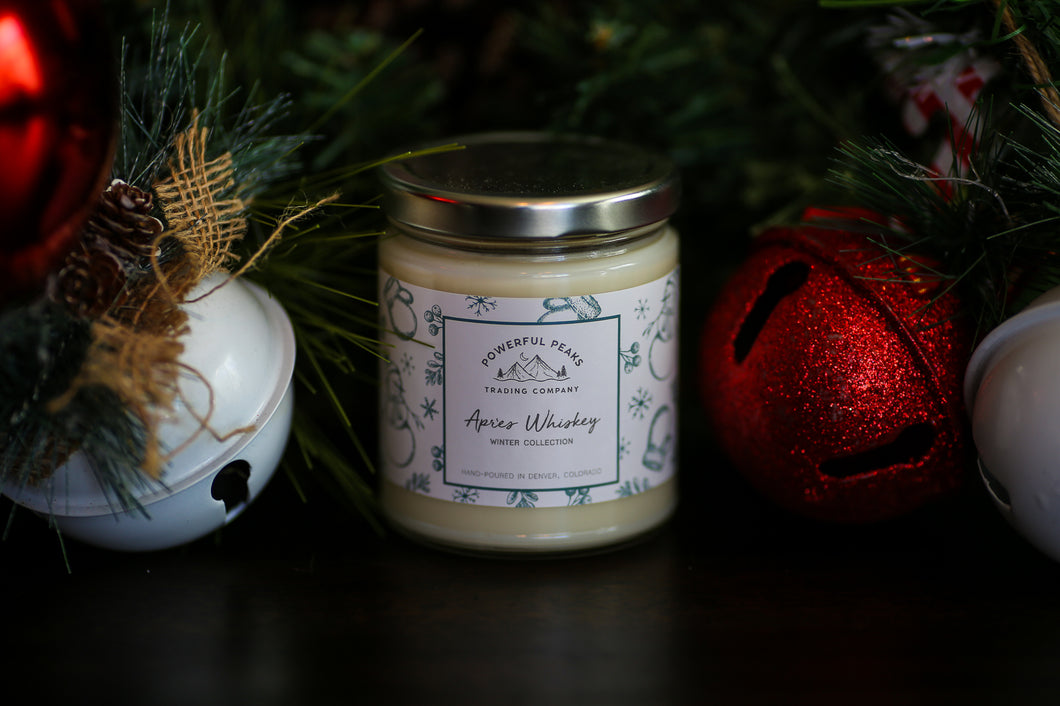 Apres Whiskey - Whiskey | Smoke | Oak - 8 oz. Soy Wax Candle
